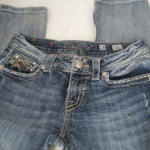 Miss Me Straight Jeans Size 28